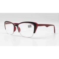 Готовые очки MOC T 2122 С2 (красные) (53#19-138)