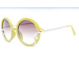 Солнцезащитные очки LANGTEMENC 56214 50-21-135  ЖЁЛТЫЕ