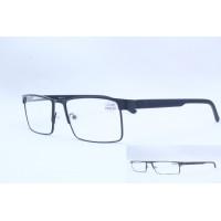 Готовые очки Ralph 2087 (54-18-140) чёрные/серые