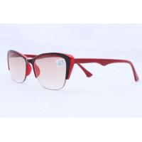 Готовые очки MOC T 2122 красные (T) (53#19-138)
