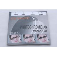 Линзы ICE MAKER PHOTOCHROMIC 1.56 (хамелион серый) минус