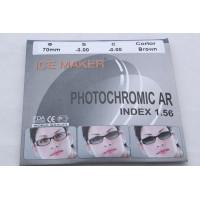 Линзы ICE MAKER PHOTOCHROMIC 1.56 (хамелион коричн.) минус